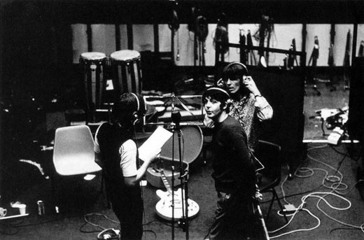 John, Paul and George, Twickenham Studios, London, (1968)