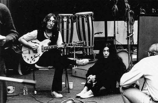 John and Yoko Ono, Twickenham Studios, London, 1968
