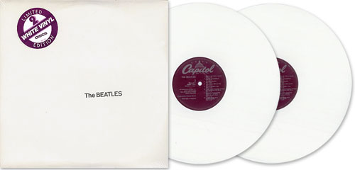 This Capitol Records 1978 Limited Edition re-issue was pressed on white vinyl.