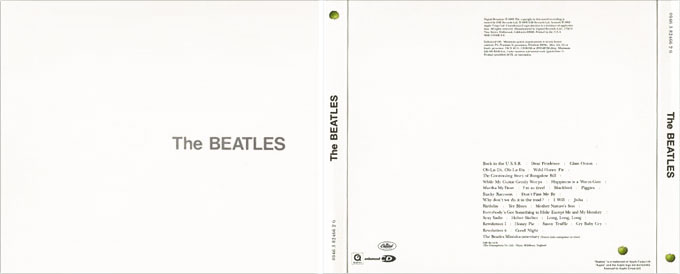 The White Album became available for the first time on compact disc in 1987.