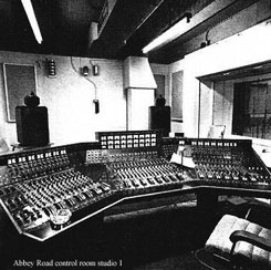 Abby Road Studios control room.