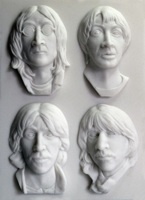 Max Totten's sculpture was inspired by the White Album