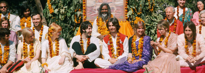 Thge Beatles in India Feb., 1968