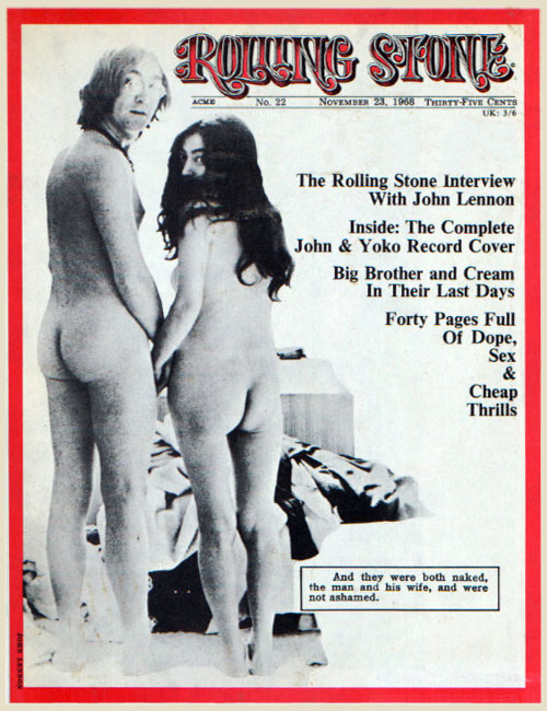 Rolling Stone issue No.22 published 23 November 1968.