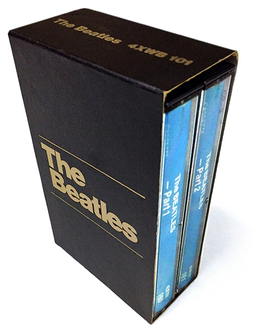 The Beatles was available in a double-cassette box set version.