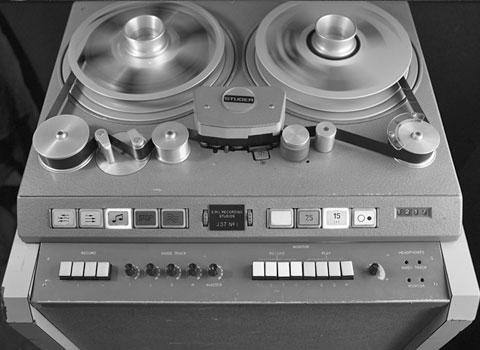 EMI new 8 track recorder (circa 1968)