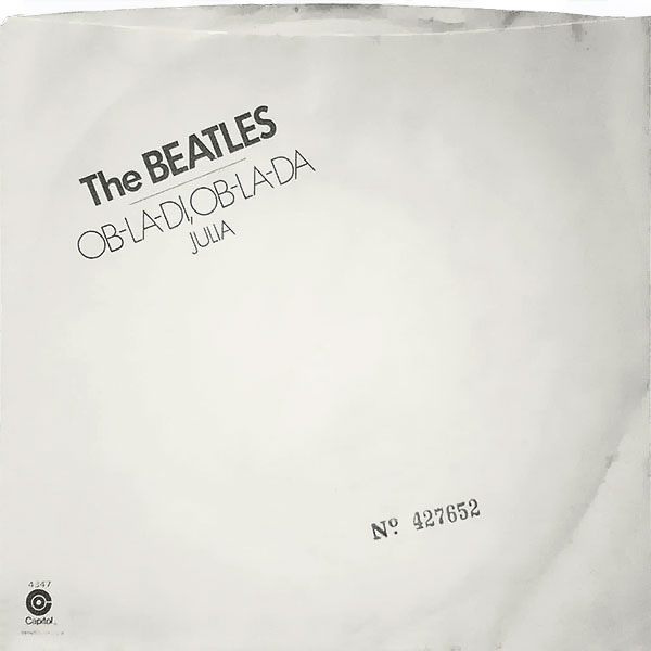 In 1976 Capitol released Ob-La-Di, Ob-La-Da as a single with Julia as the B-side.