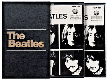 The Beatles released as a double-cassette box in December of 68'