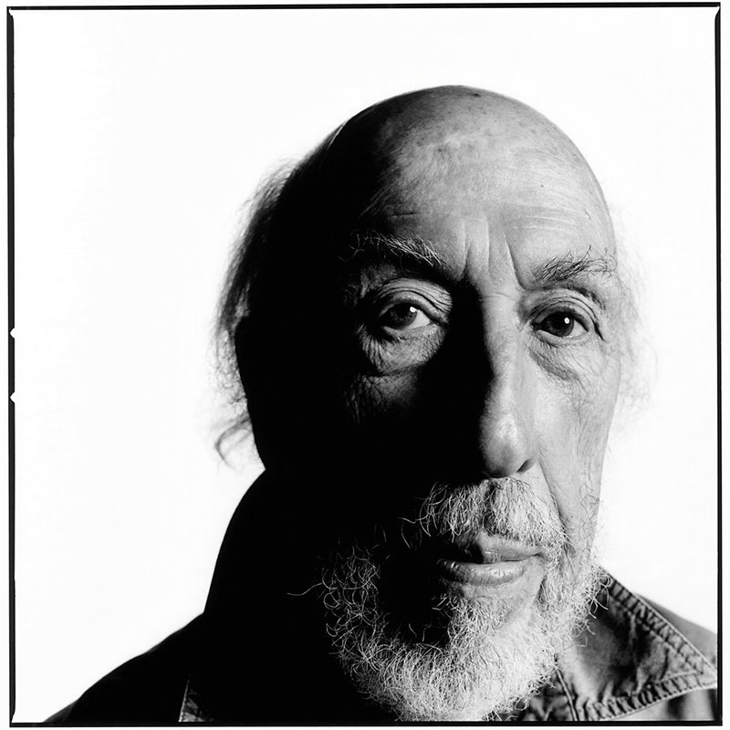 Richard Hamilton photographed by David Bailey (2010)