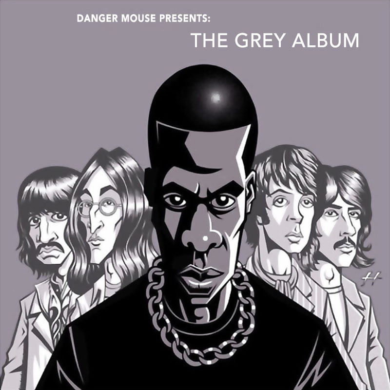 Original cover art for DJ  Danger Mouse's 2004 release The Grey Album.