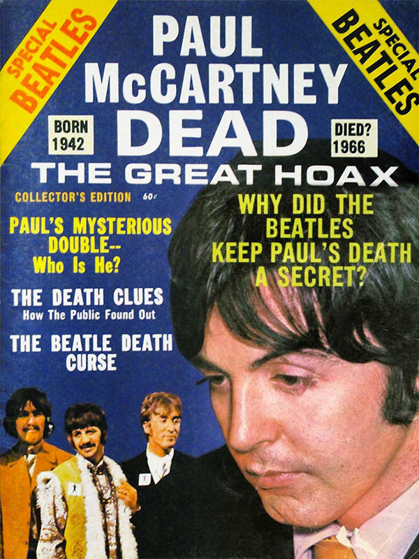 Special magazine published covering 'The Great Hoax'.