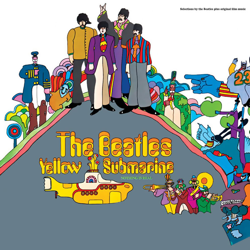 In 1969 Apple released the Yellow Submarine soundtrack album.