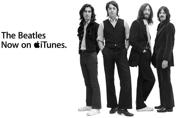 The Beatles' Apple Records had a long dispute with Apple over the company's name. After that was finally settled, the Beatles' albums finally appeared on iTunes in late 2010.