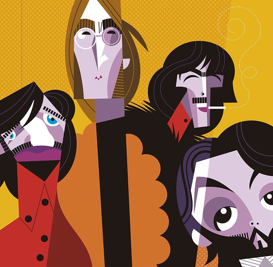 The Beatles by Pablo Lobato.