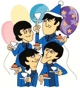 The Beatles Saturday Morning Birthday Party