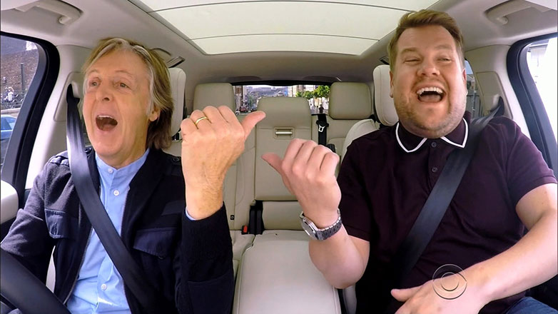 Paul McCartney returned to Liverpool on 9 June 2020 to film Carpool Karaoke with James Corden for The Late Late Show.