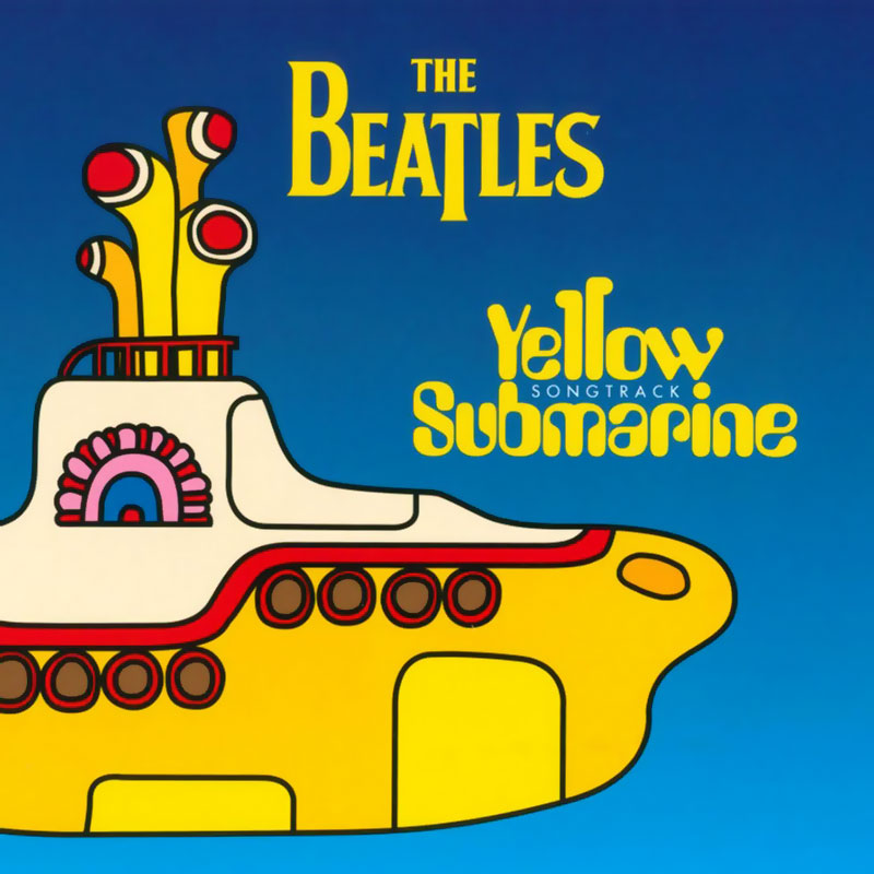 The Beatles Yellow Submarine Songtrack released in 1999.
